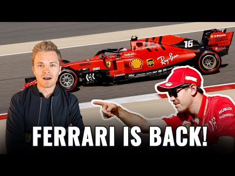 ARE FERRARI & VETTEL BACK WITH A BANG IN BAHRAIN? | NICO ROSBERG | F1 ANALYSIS