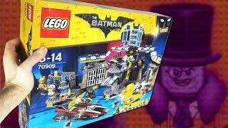 Нападение на Бэтпещеру - Самый БОЛЬШОЙ набор LEGO The Batman Movie