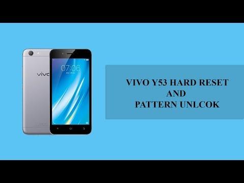 Vivo Y53 hard reset forgot screen lock - смотреть онлайн на Hah Life