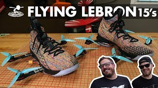 Flying LeBron James Shoes! - Video Youtube