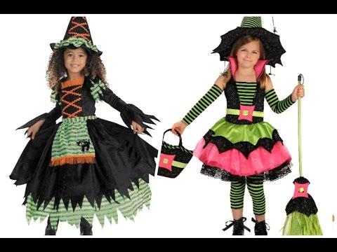 Disfraces de bruja para niña - #Halloween