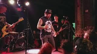 """Abrasive Wheels """"Burn 'Em Down"""" Live at Voltage Lounge, Philly 11/24/17"""