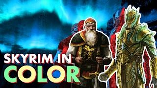 SKYRIM in true color - The ART!