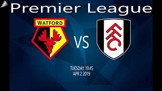 Watford Vs Fulham  02-04-13