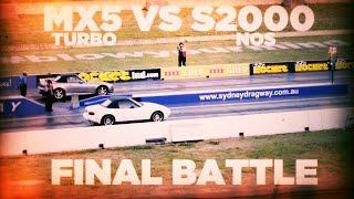 Turbo MX5 VS Honda with NOS [Final Battle]