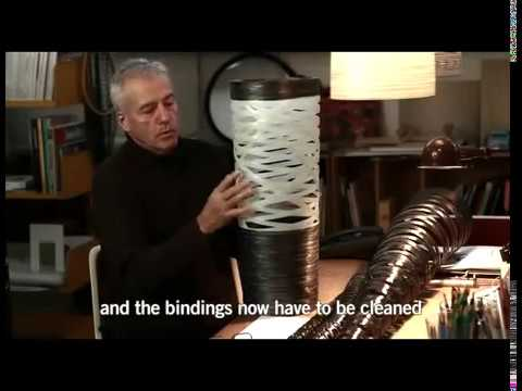 Designer Marc Sadler about the Tress lamps collection