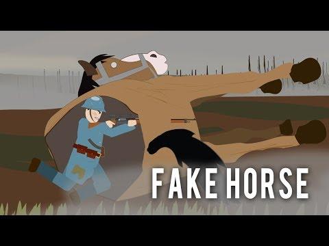 一戰 假馬 和其他偽裝