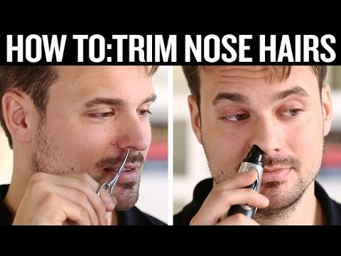 How to Trim Nose Hairs (the Correct Way)