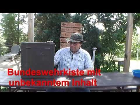 Secret Army Box Geheimnisvolle Kiste der Bundeswehr