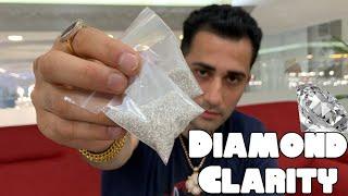 Understanding DIAMOND CLARITY !