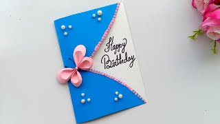 Beautiful Handmade Happy Birthday Card Idea / DIY Greeting Cards For Birthday.