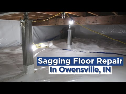 Sagging, Sloping, and Uneven Floors in Owensville, IN