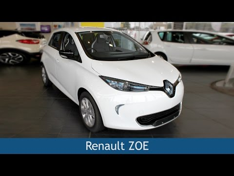 Renault ZOE 2015 Review