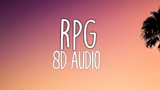 Kehlani   RPG (8D AUDIO) 🎧 Ft. 6lack