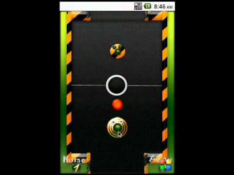 Video of Air Hockey