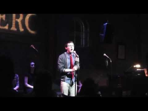 Connor Marsh singing for Cabaret at the Merc as an invited Rising Star!