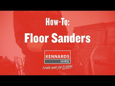 Hire FLOOR SANDER - ORBITAL