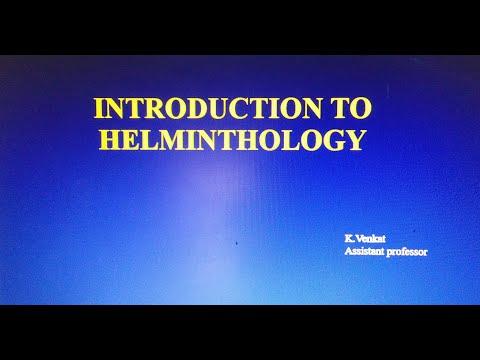 A helminták heterotróf jellegűek
