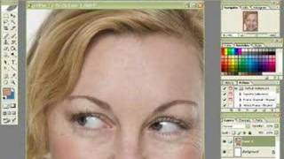 remove eye wrinkles step by step photoshop tutorial