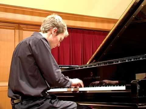 Evan Pilate plays Bach's Partita in C minor