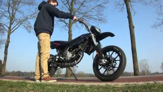 Gasreactie Derbi DRD Racing Limited Edition BRK 85cc