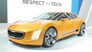 Kia GT4 Stinger Concept - 2014 Detroit Auto Show