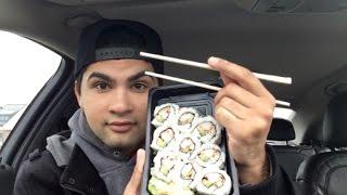 ME EATING SUSHI MUKBANG - Video Youtube