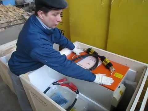 Индукционные печи на складе компании Мосиндуктор