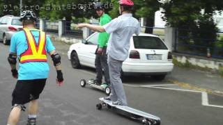 preview picture of video 'Elektro Skateboards SkateNight Haßloch 2011'