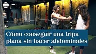 La entrenadora Noe Todea nos muestra tres ejercicios para abdomen en...
