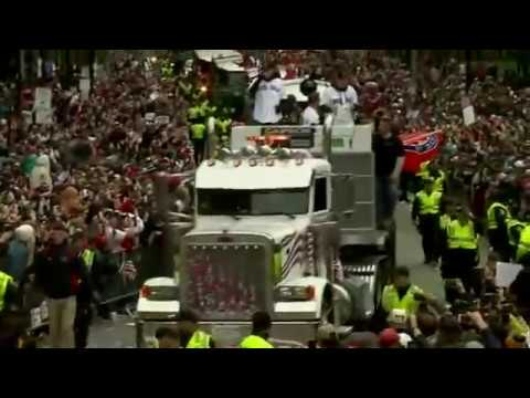 Sports fans grown accustomed to the success of their beloved teams lined the streets in the hundreds of thousands to salute the Boston Red Sox on their fourth championship in the last 15 years. (Oct. 31)