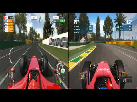 F1 06 (PS2) VS Formula One Championship Edition (PS3