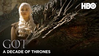 A Decade of Game of Thrones | Evolution of the Dragons (HBO)