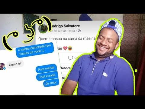 AS INACREDITÁVEIS CONVERSAS DO FACEBOOK!!! (bizarro)