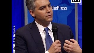 Jim Acosta of CNN Slams Breitbart Reporter
