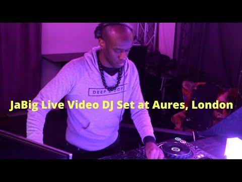 Video: JaBig Live House Music DJ Mix at Aures (London, UK)