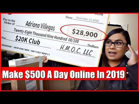 "(2019) How To Earn Money Online ""How To Make Money Working From Home"""