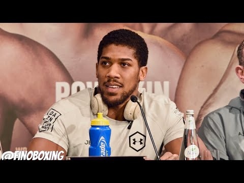 """ANTHONY JOSHUA: """"I NEVER LOST MY HEART OR PASSION AFTER LOSING"""" 