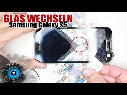 Samsung Galaxy S5 Glas Wechseln Tauschen unter 20€ Reparieren [Deutsch/German] [HD] Glass repair