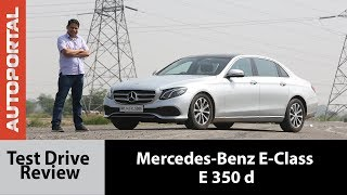 Mercedes-Benz E-Class Test Drive Review - Autoportal
