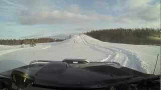 preview picture of video 'Paldiski - Klooga safari 03.03.2013'