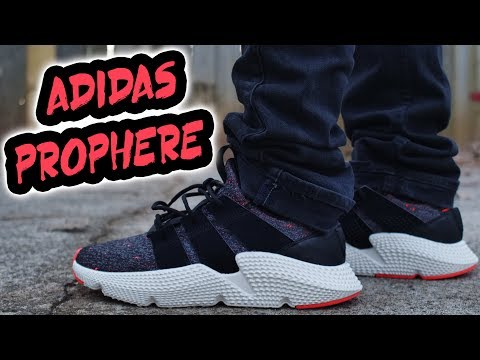 "THE NEW FUTURE OF ADIDAS MODELS ?!?! ADIDAS PROPHERE ""CORE BLACK INFARED"" REVIEW AND ON FOOT"