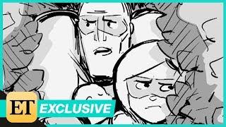 Incredibles 2 Deleted Scene: The Parrs Escape Suburbia (Exclusive)