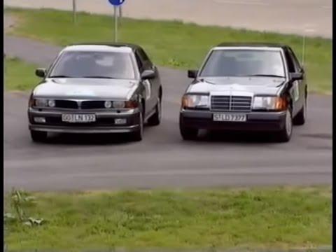 Mitsubishi Sigma V6 24V vs Mercedes 300E 24V - 1992