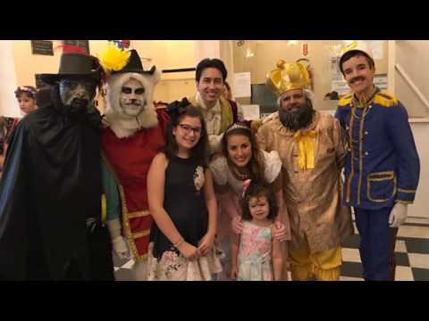 Espetáculo Gato de Botas no Teatro Alvaro de Carvalho com Sabine Sabida