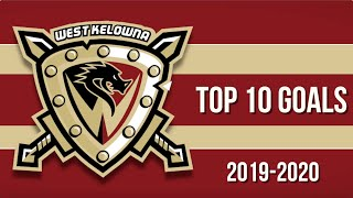 Top 10 West Kelowna Warriors Goals of 2019-20