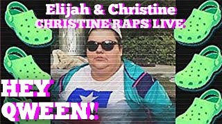 Christine Sydelko Raps! Hey Qween! HIGHLIGHT!