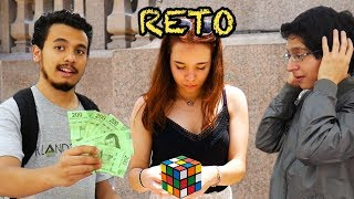 I Give You $1000 If You Solve the Rubik's Cube!
