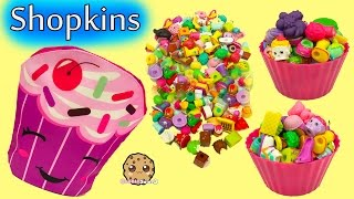 Shopkins Cupcake Surprise , Bag of Season 5 Packs & Mystery Toy Blind Bags