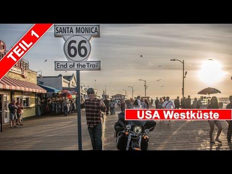 Teil 1 - USA Tchibo Westküsten Tour auf der Harley Davidson - Tour Story